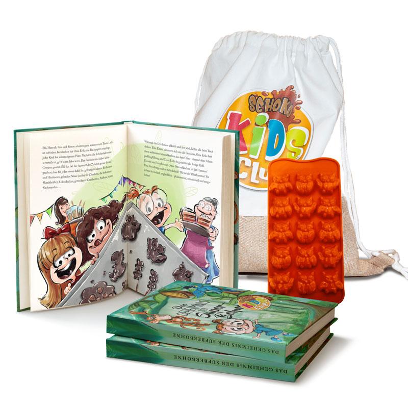 Schoko Kids Club Starterset Kinderbuch