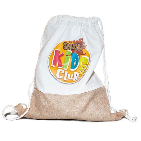 Kinder Bag Rucksack Stoffbeutel