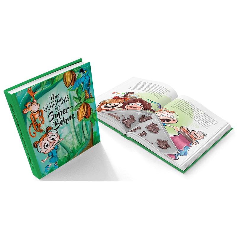 kinderbuch das geheimnis der superbohne