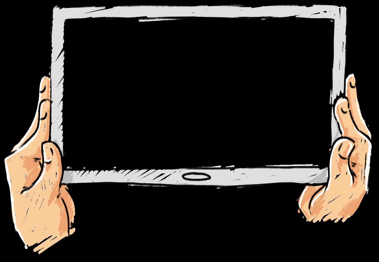 Tablet-Zeichnung